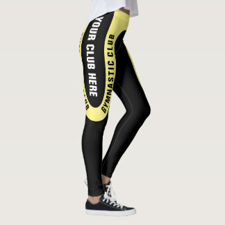 Customizable Gymnastic Club Leggings Version 1