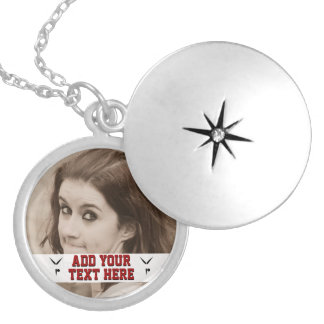 Customizable Gymnastics Add Photo Keepsake Locket Necklace