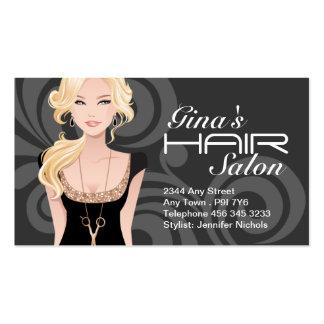 Customizable Hair Salon Business Cards