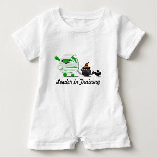 Customizable Halloween - Mochi Mummy and Friends Baby Bodysuit