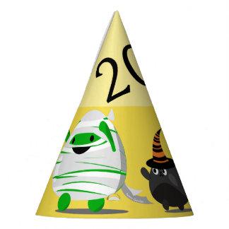 Customizable Halloween - Mochi Mummy Leader Party Hat