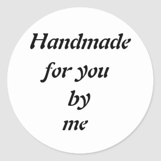 Customizable Handmade Transparent Sticker