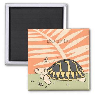 Customizable Hermann's Tortoise Magnet