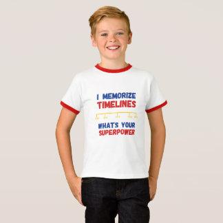 CUSTOMIZABLE Homeschool Superhero T-Shirt