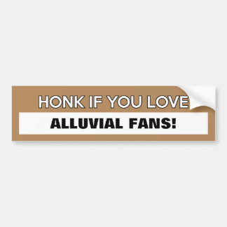"Customizable ""Honk If You Love..."" Bumper Sticker"