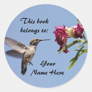 Customizable Hummingbird Sticker
