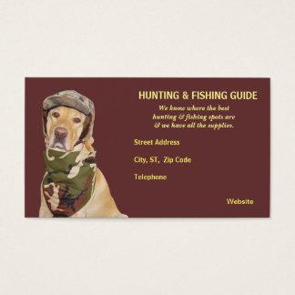 Customizable Hunting/Fishing Guide