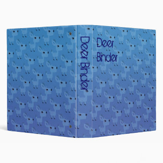 Customizable: ideer blue binder