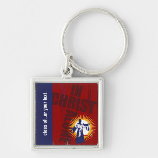 Customizable In Christ Alone Keychain