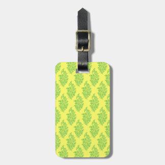 Customizable India Block Print Luggage Tag