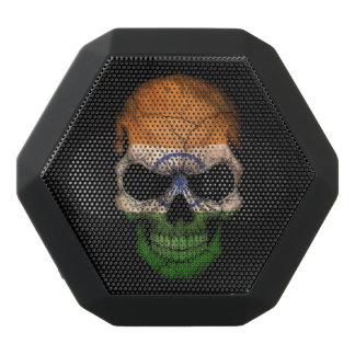Customizable Indian Flag Skull Black Boombot Rex Bluetooth Speaker