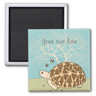 Customizable Indian Star Tortoise Magnet