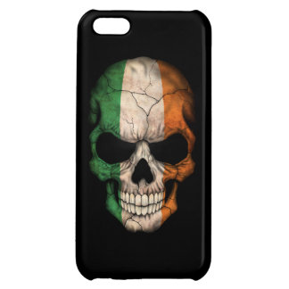 Customizable Irish Flag Skull Cover For iPhone 5C