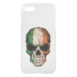 Customizable Irish Flag Skull iPhone 7 Case