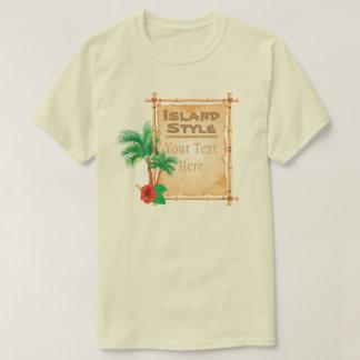 Customizable Island T-Shirt
