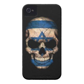 Customizable Israeli Flag Skull iPhone 4 Case
