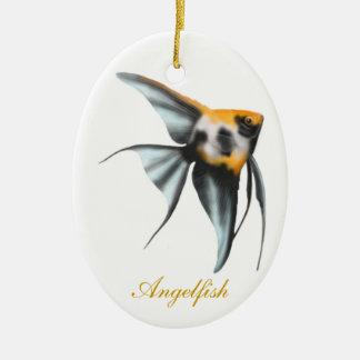 Customizable Koi Angelfish Ornament