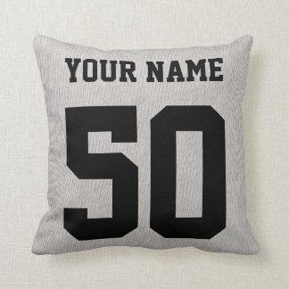 Customizable Lacrosse Blood Sweat & No Fear Pillow