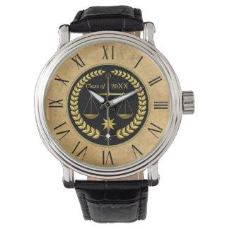 Customizable Law School Graduation Gifts Men Wristwatches