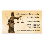CUSTOMIZABLE Lawyer BC Pack Of Standard Business Cards