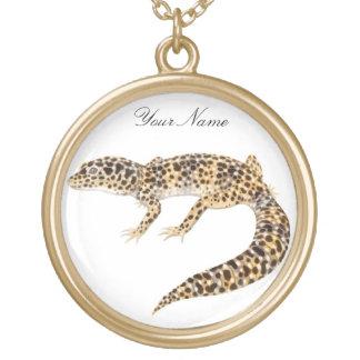 Customizable Leopard Gecko Necklace