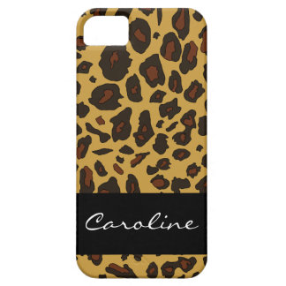 Customizable Leopard Print iPhone 5 Cases