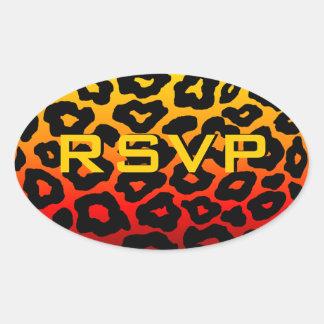 Customizable Leopard Sticker