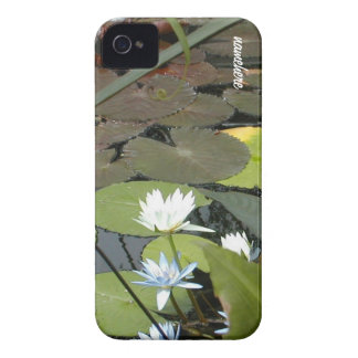 Customizable: Lilies iPhone 4 Cover