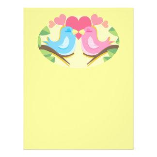 Customizable Love Birds Gifts Flyers