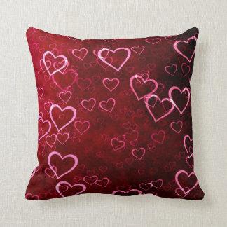 Customizable Love & Hearts Decorative Throw Pillow
