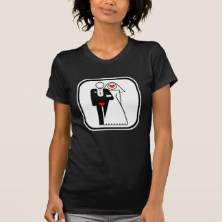 Customizable: Lovers Icon (light frame) T Shirts