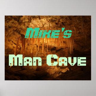 Customizable Man Cave Poster