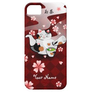 Customizable Maneki Neko Teapot Tea case