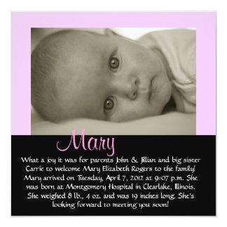 """CUSTOMIZABLE - """"Mary"""" Card"""