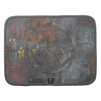 Customizable Metal Radioactive Symbol Planners