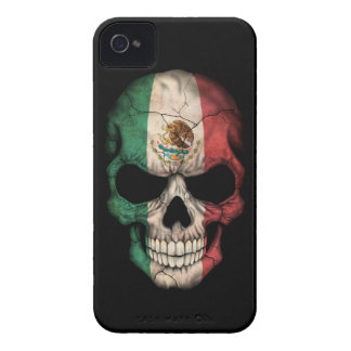 Customizable Mexican Flag Skull Case-Mate iPhone 4 Cases