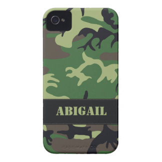 Customizable Military Camo iPhone 4 Case