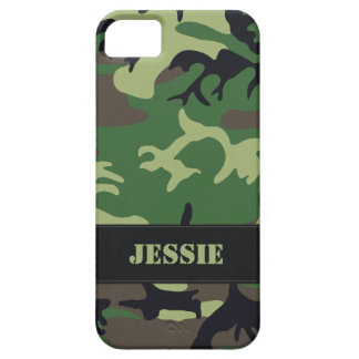 Customizable Military Camo iPhone 5 Cases