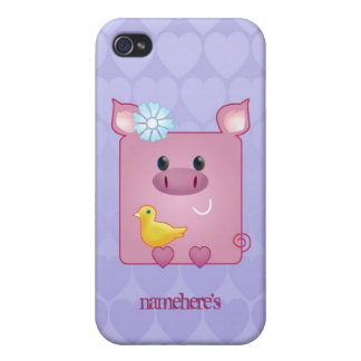 Customizable: Miss Piggy Cover For iPhone 4