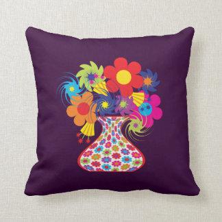 Customizable Mod Floral Cushion