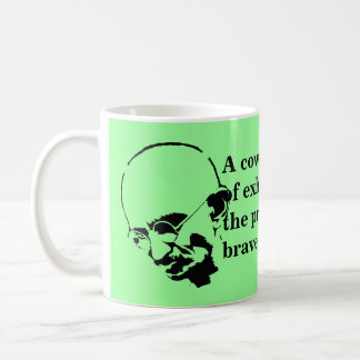 Customizable Mohandas Gandhi Quote Coffee Mug