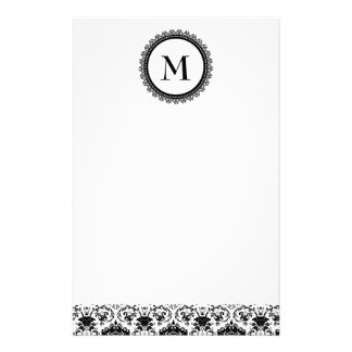 Customizable Monogram stationary Stationery