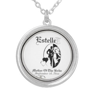 Customizable Mother Of The Bride Keepsake Necklace