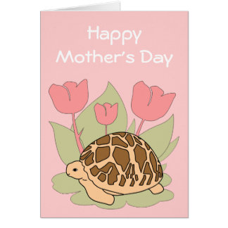 Customizable Mother's Day Star Tortoise Card 6