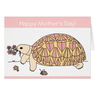 Customizable Mother's Day Star Tortoise Card 9