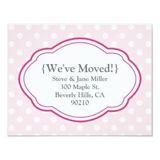 Customizable Moving Announcement