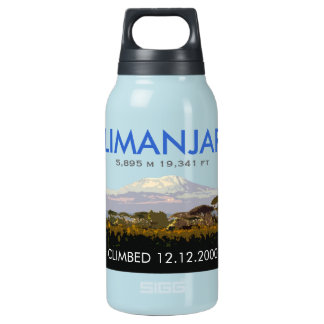 Customizable Mt Kilimanjaro Climb Commemorative Insulated Water Bottle