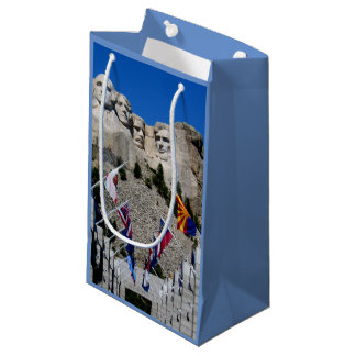 Customizable Mt Rushmore Souvenir Small Gift Bag