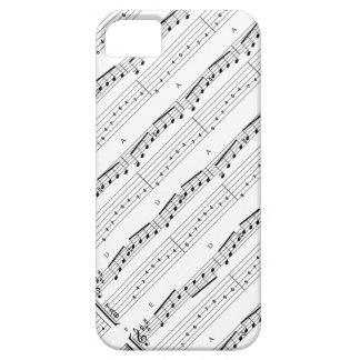 Customizable Music notes Design iPhone 5 Cases