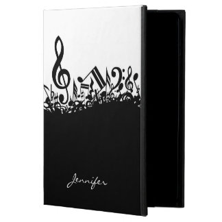 Customizable Musical Notes iPad Air Covers